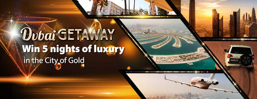 Bgo Dubai Getaway Promotion Banner