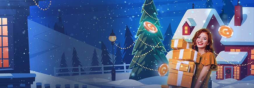 Casino.com - Santa's 1million Spins Promotion