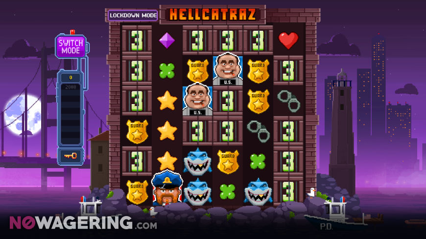 Hellcatraz Online Slot by Relax Gaming