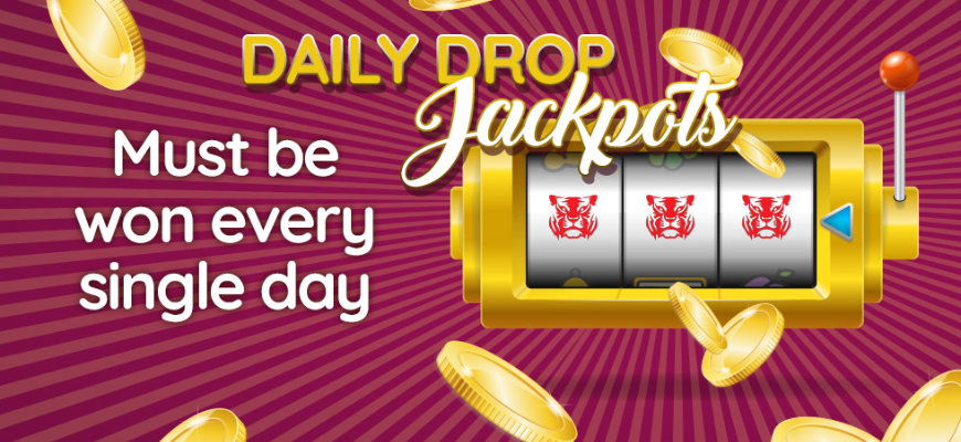 Daily Drop Jackpots Banner