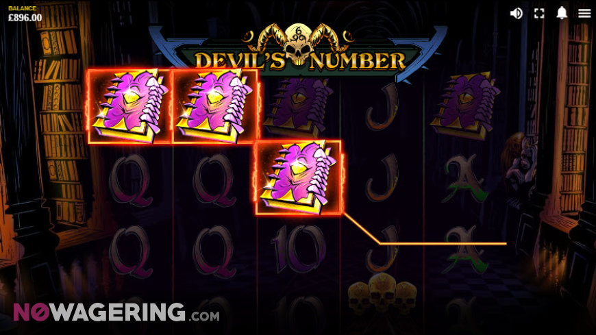 Devil's Number Online Slot by Red Tiger Gaming