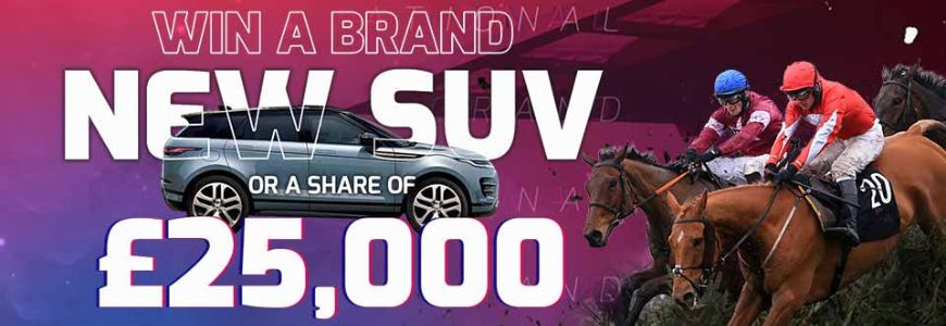 Grand National 2021 - Betfred - SUV £25k