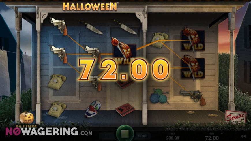 Halloween Online Slot by Microgaming