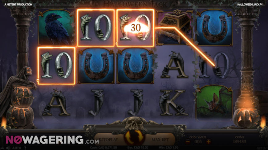 Halloween jack Online Slot by NetEnt