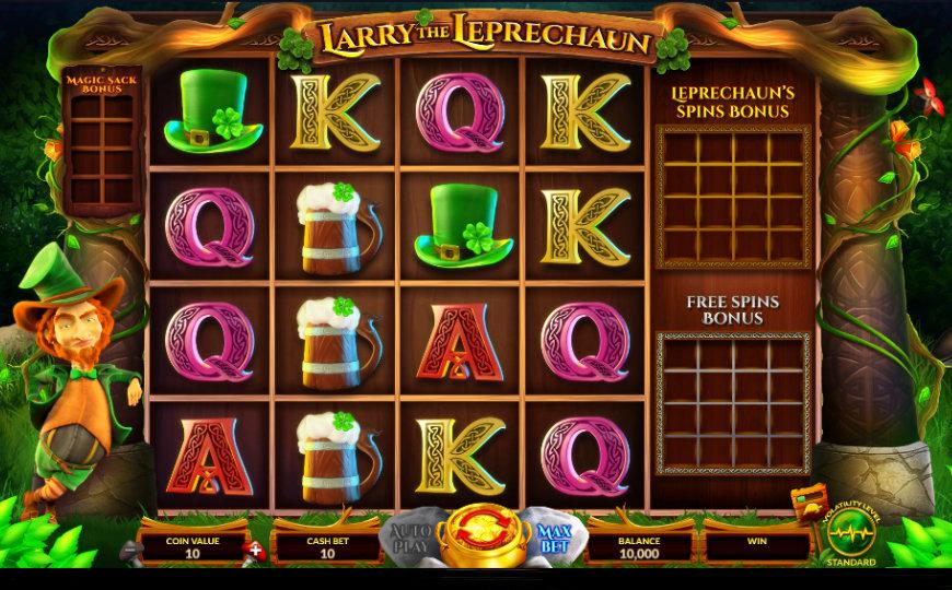 MGA Slot Game of the Year Wazdan's Larry the Leprechaun