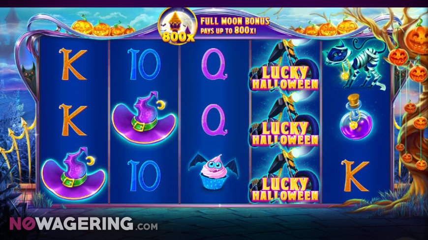 Lucky Halloween Online Slot by Red Tiger Gaming