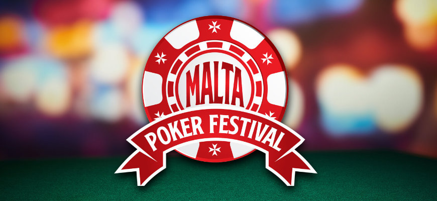 Win entry into the Grand Event of the Malta Poker Festival with Videoslots