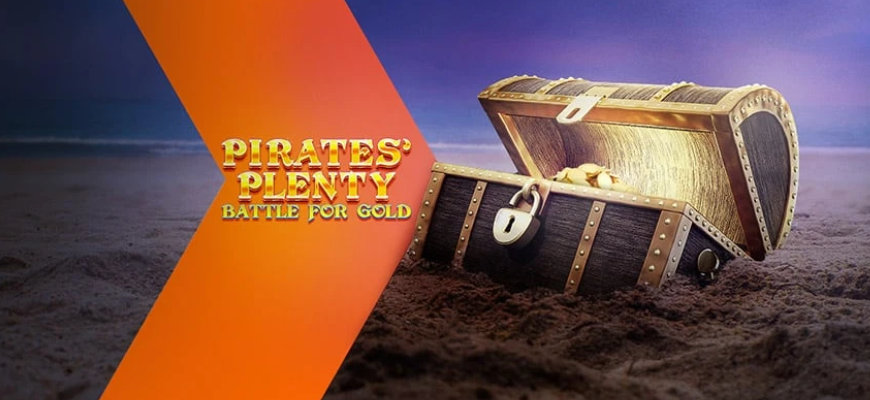 Win up to £2400 on Pirates' Plenty: Battle for Gold with Betsafe