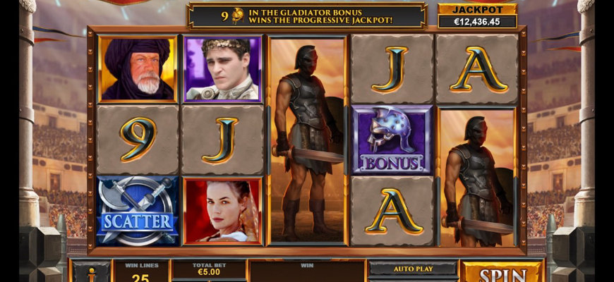 Gladiator: Road to Rome slot game