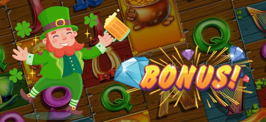 No Wagering's top 5 Irish themed slot games