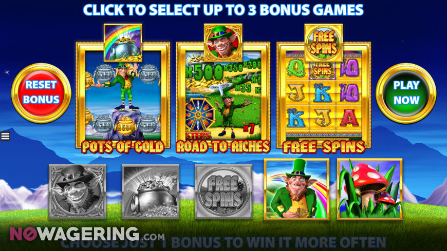 Rainbow Riches Pick and Mix slot game