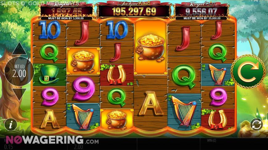 Slots O' Gold Megaways slot game