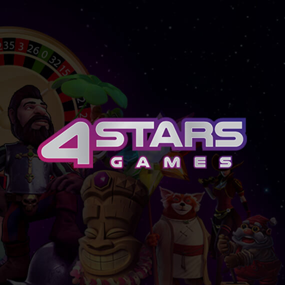 4Stars Games Welcome Offer Logo