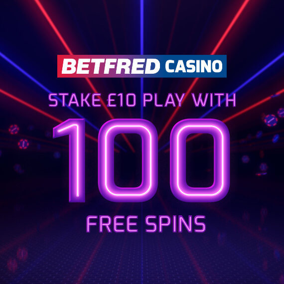 Betfred Casino 100 Free Spins Logo