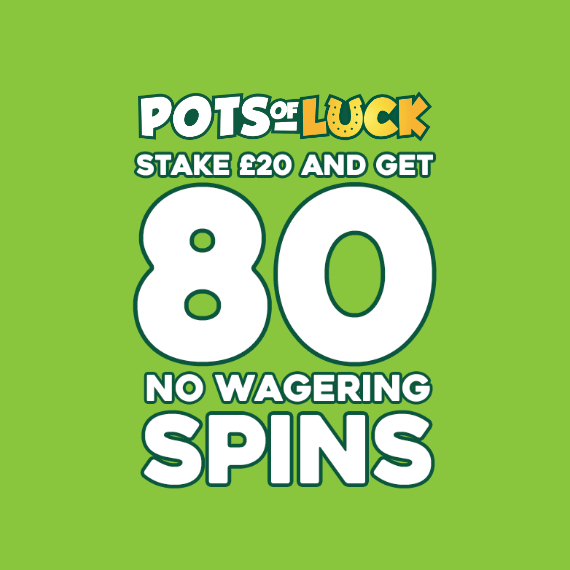 Pots of Luck Free Spins Logo