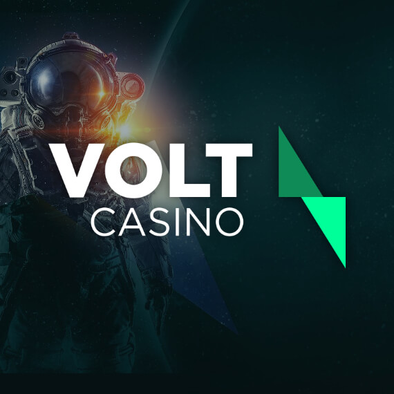 Volt Casino Welcome Mission Logo