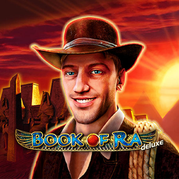 Book of Ra Deluxe by Novomatic Logo