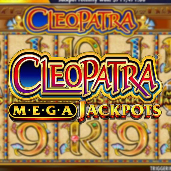 Cleopatra (Mega Jackpots) by IGT Logo