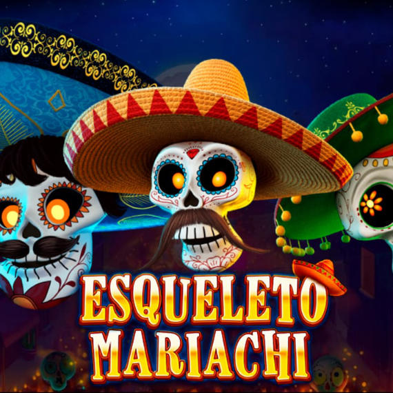 Esqueleto Mariachi by Red Tiger Logo