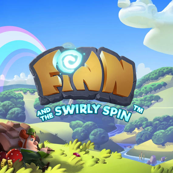 Finn and the Swirly Spin by NetEnt Logo