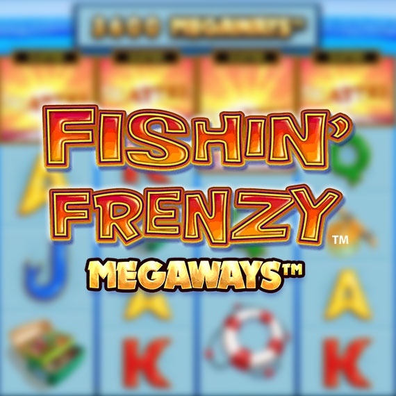 Fishin' Frenzy Megaways by Blueprint Gaming Logo