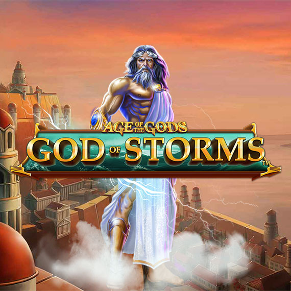 God of Storms (Age of the Gods) by Playtech Logo