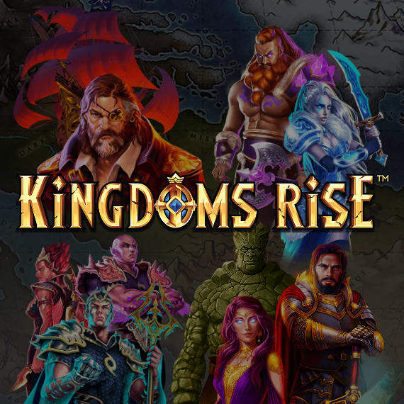 Kingdoms Rise by Playtech Logo