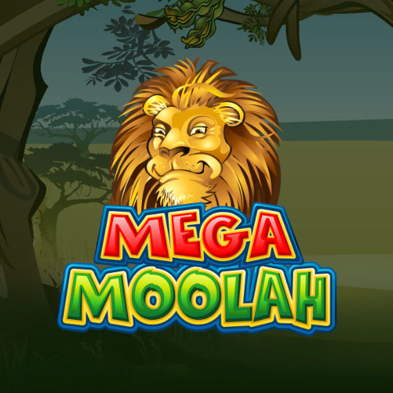 Mega Moolah by MicroGaming Logo