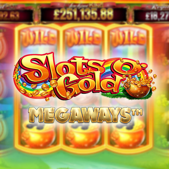 Slots O' Gold (Megaways) by Blueprint Gaming Logo