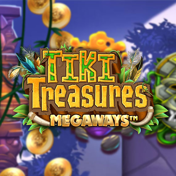 Tiki Treasures (Megaways) by Blueprint Gaming Logo