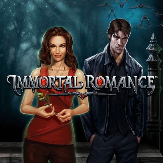 Immortal Romance by MicroGaming Logo