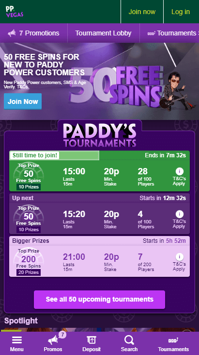 Paddy Power Mobile Screenshot 3