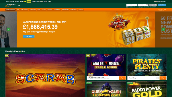 Paddy Power Desktop Screenshot 1