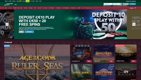 Paddy Power Desktop Screenshot 3