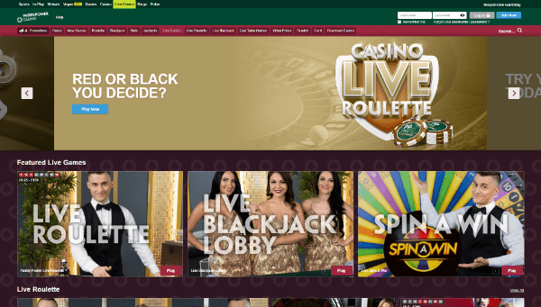 Paddy Power Desktop Screenshot 4