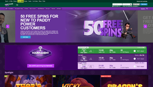 Paddy Power Desktop Screenshot 2
