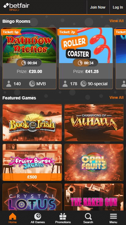 Betfair Casino Mobile Screenshot 8
