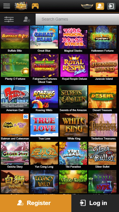 Videoslots Mobile Casino
