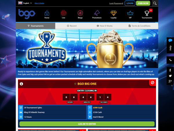 Bgo Desktop Tournaments