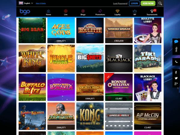 Bgo Desktop Casino Slots