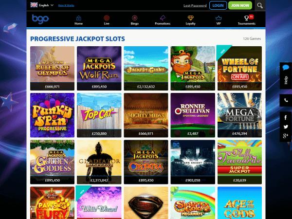 Bgo Desktop Jackpots