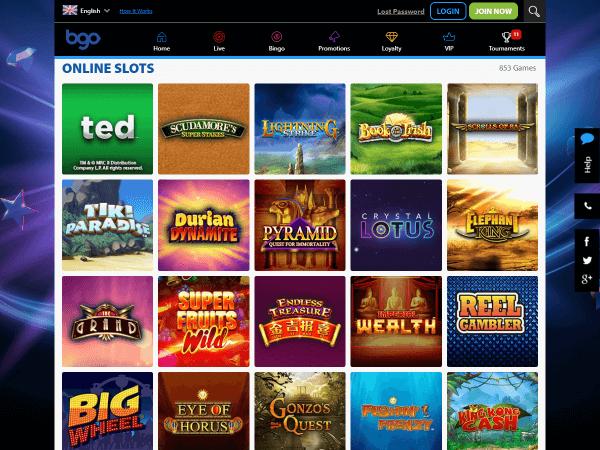 Bgo Desktop Online Slots