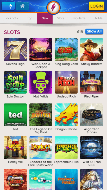 Powerspins Mobile Slots