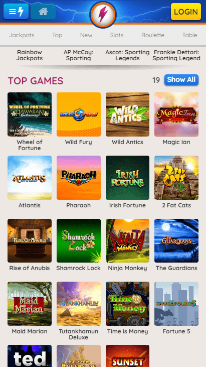 Powerspins Mobile Top Games