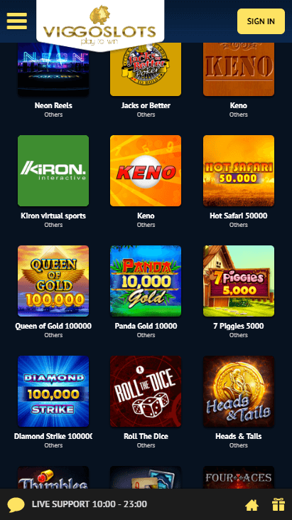 Viggoslots Mobile - Other Games
