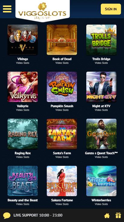 Viggoslots Mobile - Video Slots