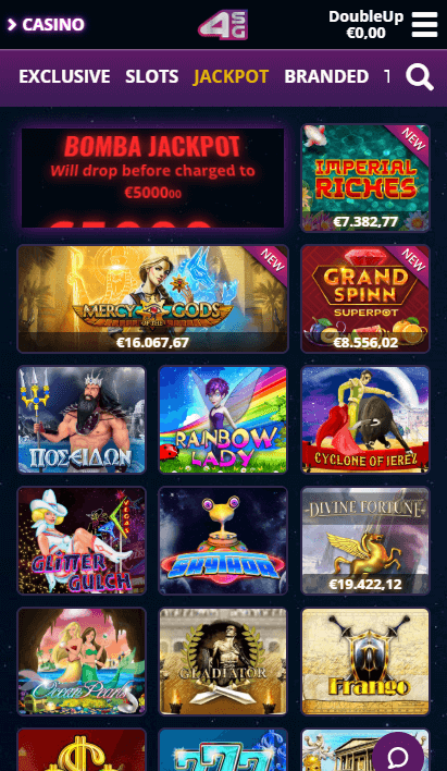 4Stars Games Mobile - Jackpots