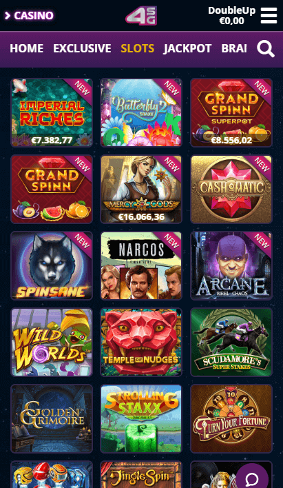 4Stars Games Mobile - Slots