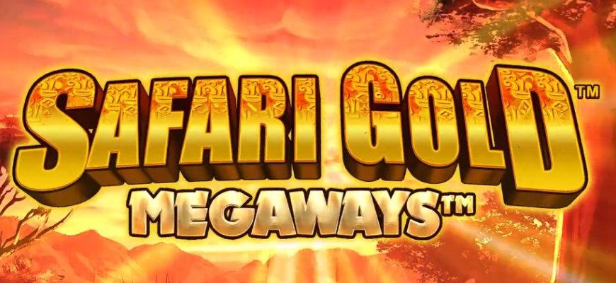 Blueprint Gaming releases Safari Gold Megaways - Banner