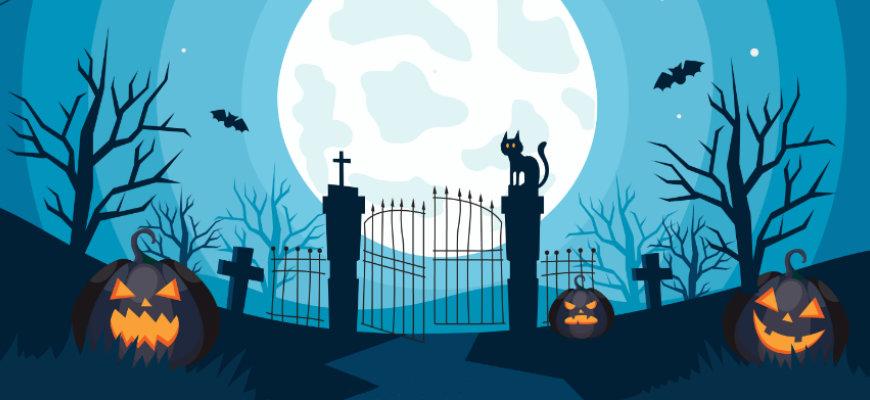 No Wagering's Top 5 Halloween online slots - Banner